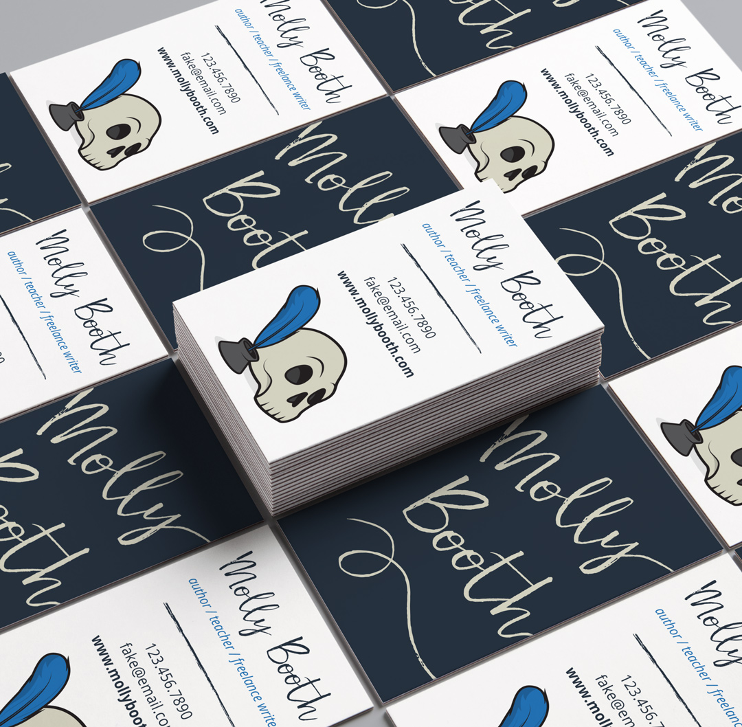 Molly booth business cards made by squirrels molly booth business cards reheart Image collections